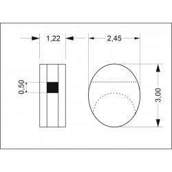 Single blocks 3 mm (40 pcs)