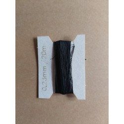 Thread 0,23 mm black