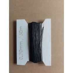 Thread 0,20 mm black