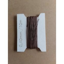 Thread 0,20 mm brown