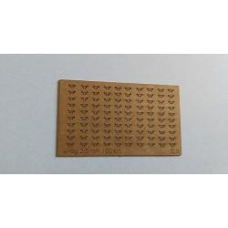 Cleats 2,5 mm (100 pcs)
