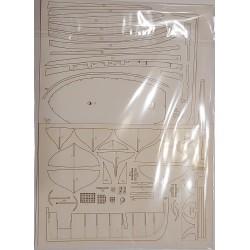 "HMS ""Fly"" - laser cut parts"